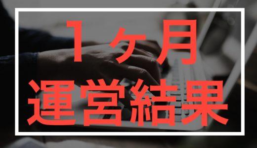 【アキタミライ】地域情報ブログのサイト1ヶ月運営結果【大公開】