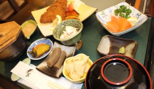 秋田市の隠れ家蕎麦屋「華正」の日替わり定食で心が満たされました。