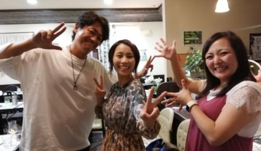 男鹿のカフェ「KENTA」で三林夏子さんやねじさんに遭遇⁉️