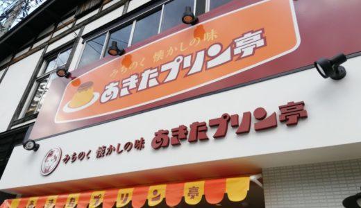 みちのくの小京都で購入「あきたプリン亭」🍮